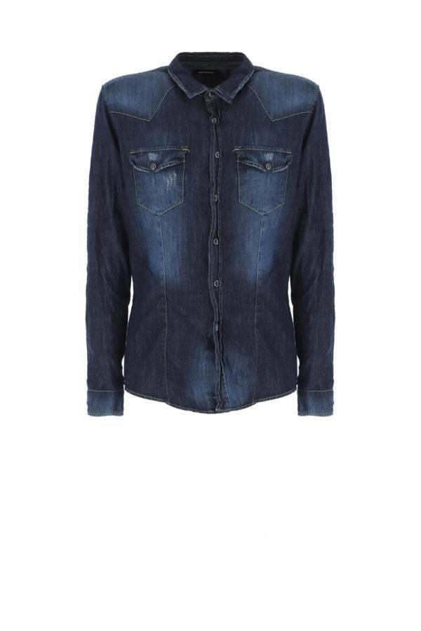 chemise jean C372MCUD10 Béziers