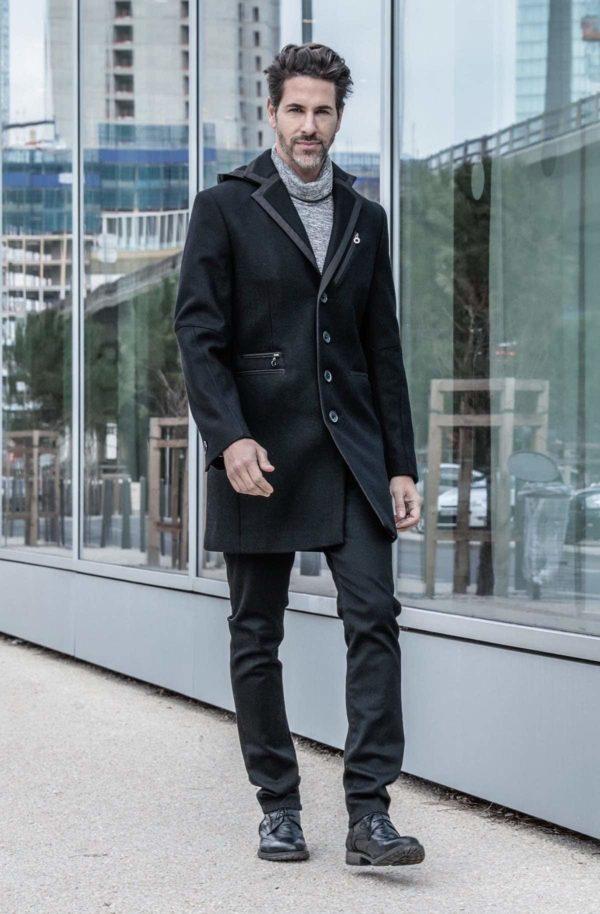 manteau capuche Béziers