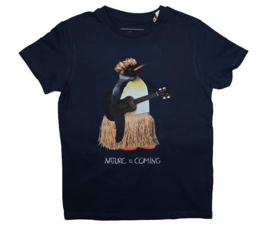 T-shirt Nature is Coming coton bio B'3 Quatre Béziers