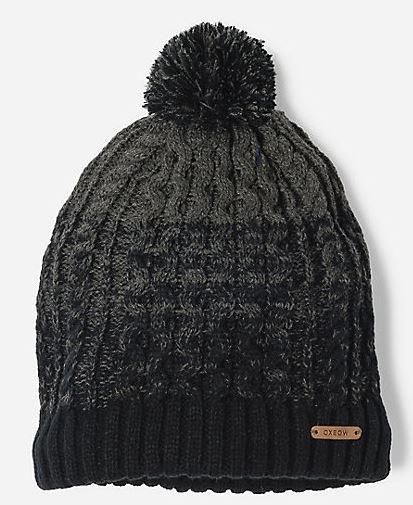 bonnet oxbow gris noir