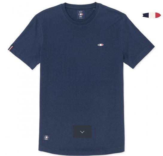 tshirt oxbow bleu tornade