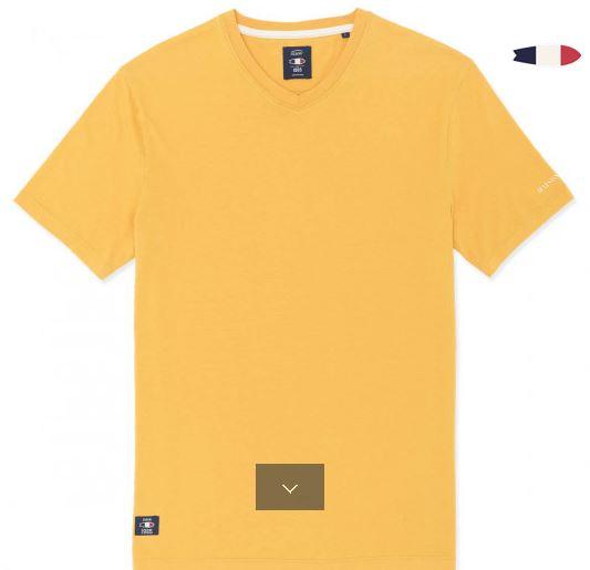 tshirt oxbow jaune twist