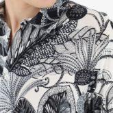 Chemise à fleurs Imperial B'3 Quatre Bézier