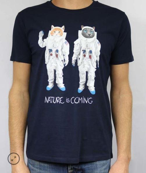 T-shirt Astrocats Nature is Coming B'3 Quatre Béziers