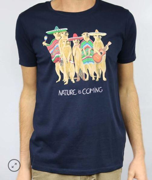T-shirt Mexican Nature is Coming B'3 Quatre Béziers