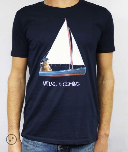 T-shirt Sailor Bear Nature is Coming B'3 Quatre Béziers