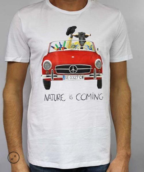 T-shirt Nature is Coming Olé B'3 Quatre Béziers