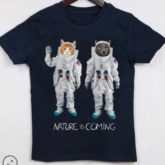 T-shirt Astrocats kid Nature is Coming B'3 Quare Béziers