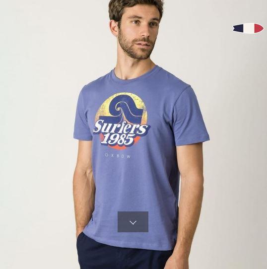 T-shirt Oxbow B'3 Quatre Béziers