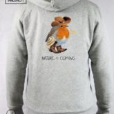 Sweat capuche coton bio Nature is Coming B'3 Quatre Béziers