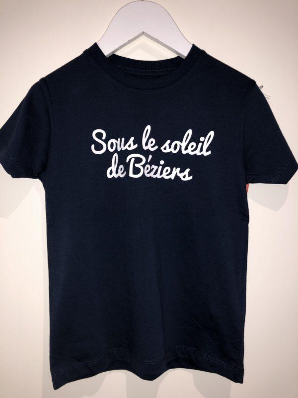 T-shirt coton bio Square Up B'3 Quatre Béziers