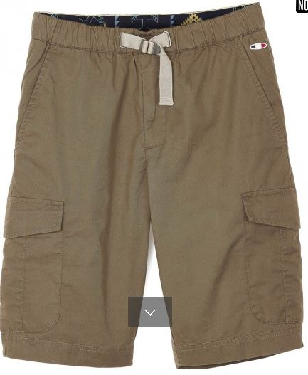 Bermuda poches appliquées en coton Oxbow B'3 Quatre BéziersOxb