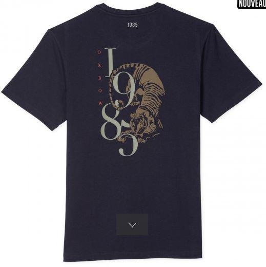 T-shirt en coton Oxbow B'3 Quatre Béziers