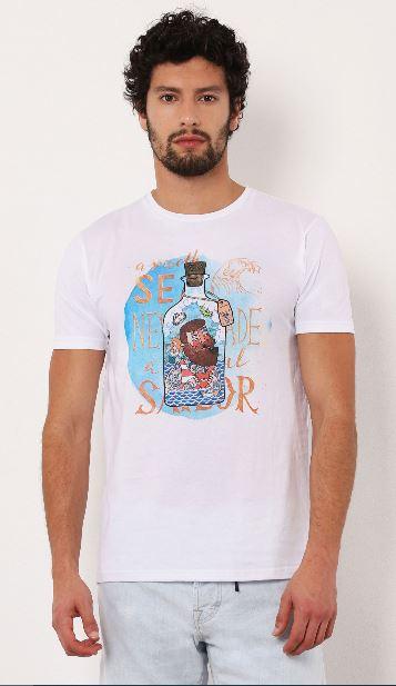 T-shirt col rond Imperial B'3 Quatre Béziers