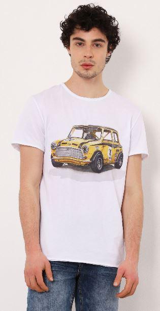 T-shirt imprimé en coton Imperial B'3 Quatre Béziers